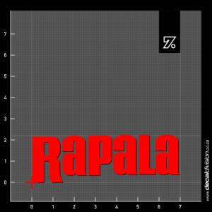 Rapala Fishing Lure Logo Sticker