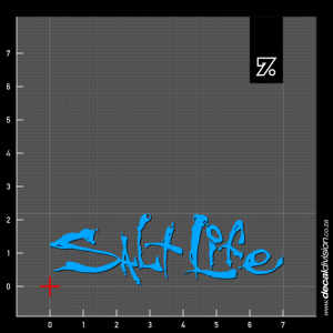 Salt Life Logo Sticker