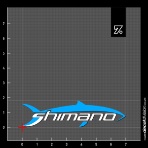 Shimano Logo Sticker