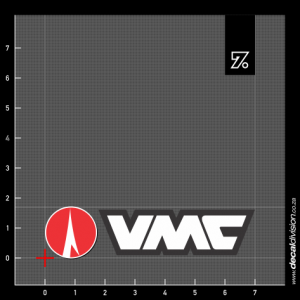VMC Hooks Logo Sticker - Horizontal