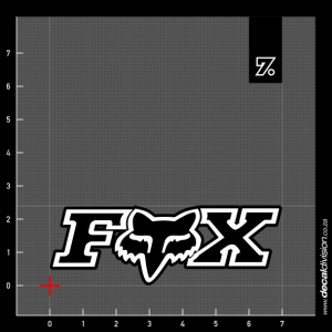 Fox Racing Inc. Sticker