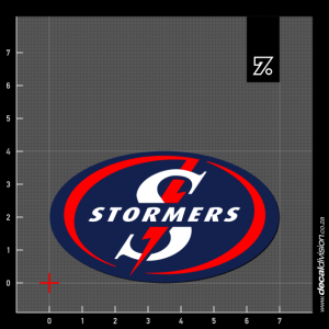 Stormers Logo Sticker