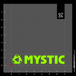 Mystic Boarding Logo Sticker